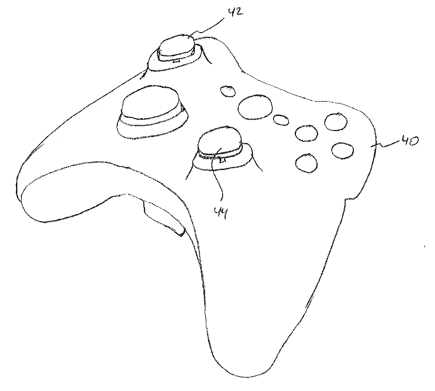 Game Controller Coloring Page Sketch Coloring Page