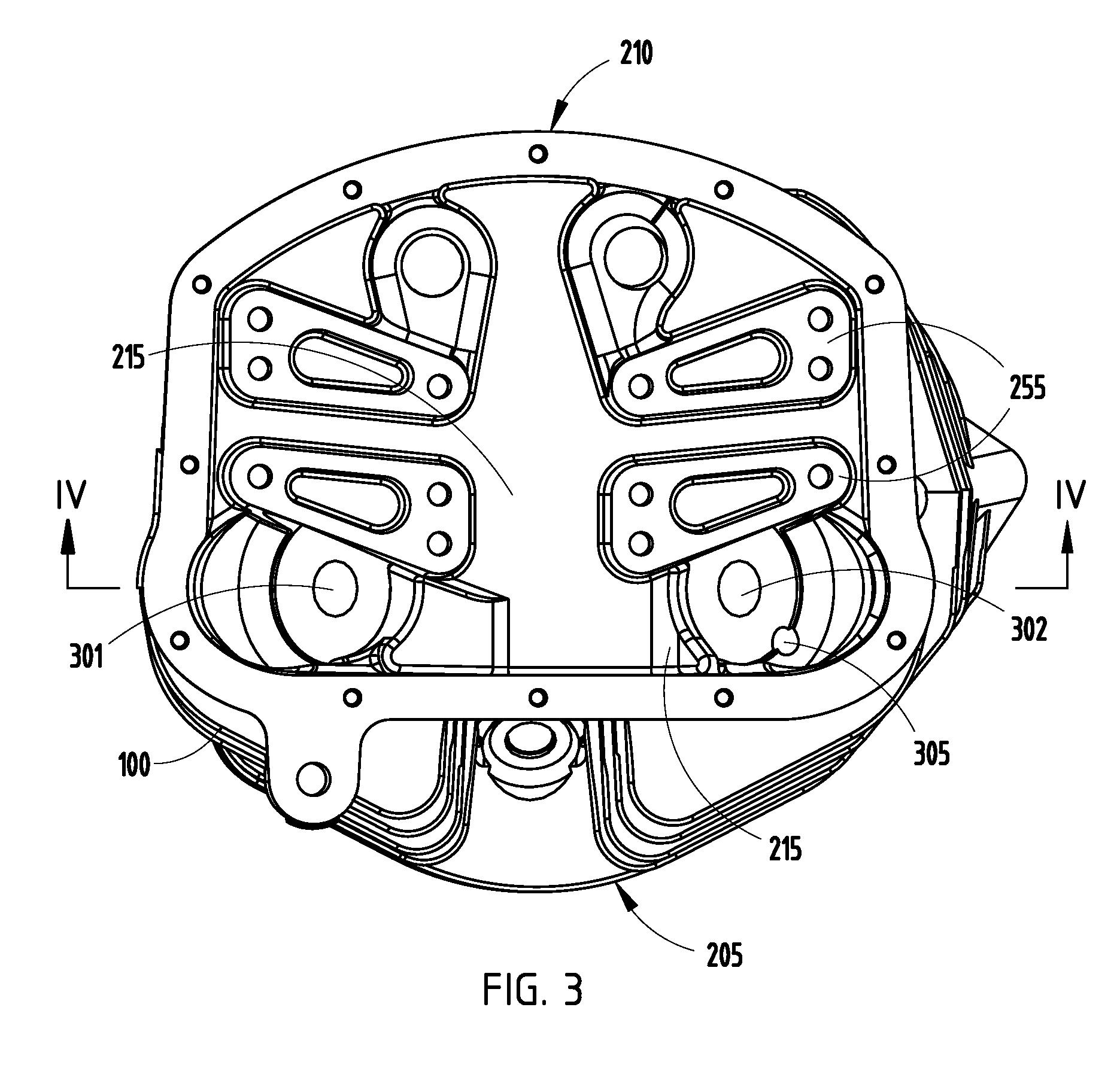 Engine Rocker Arms Diagram