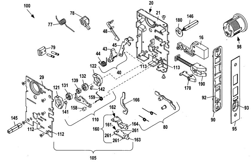 baldwin lock diagram