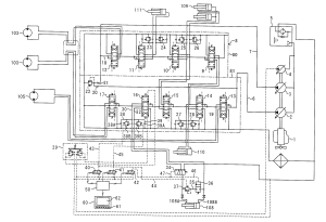 Patent US20110061755  Hydraulic circuit system for