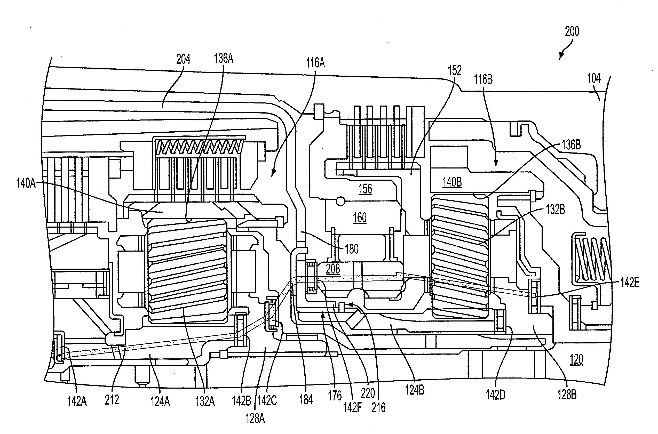 4l60e Flow Schematic