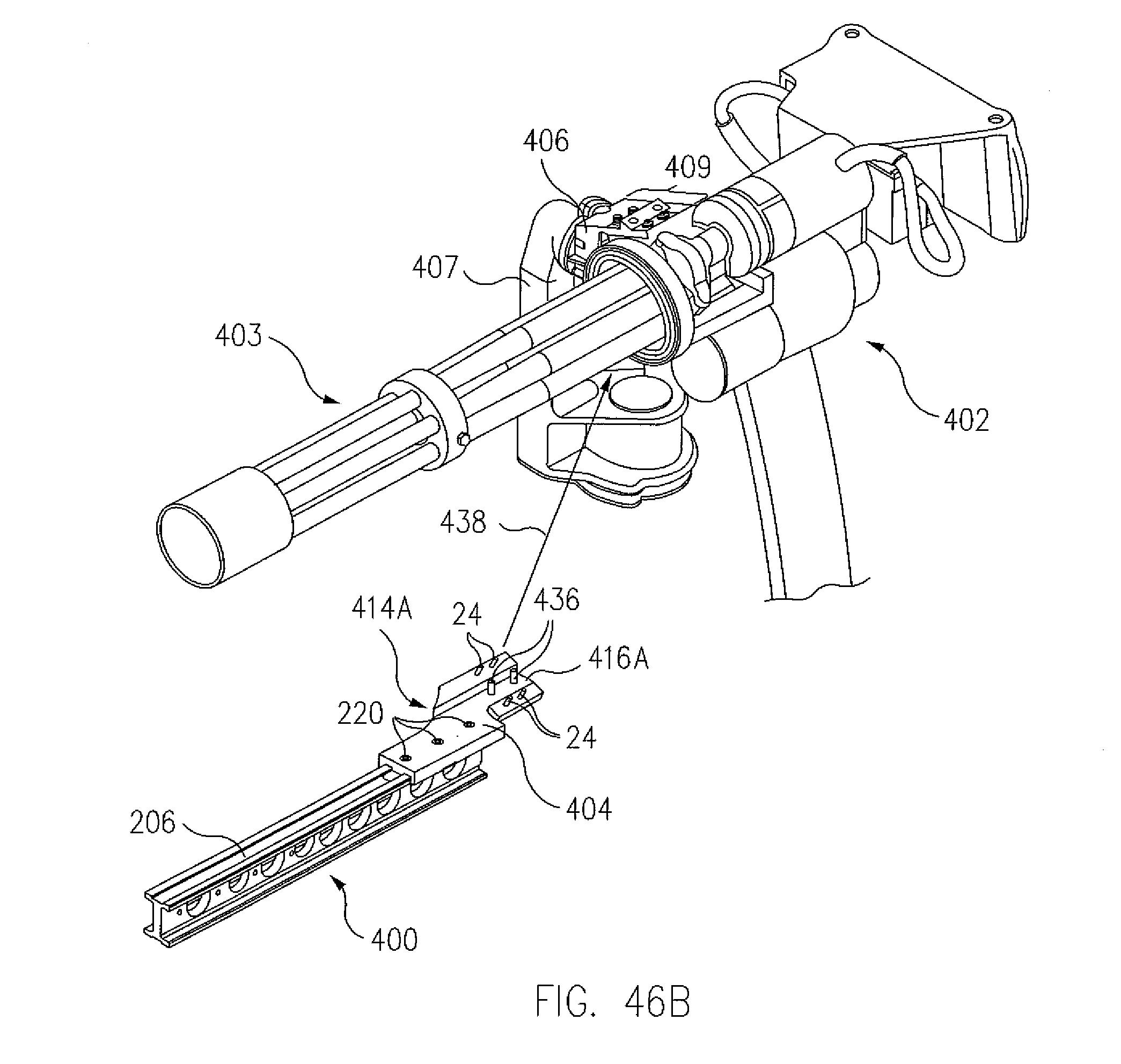 M134 Minigun Gatling Gun Drawing Sketch Coloring Page