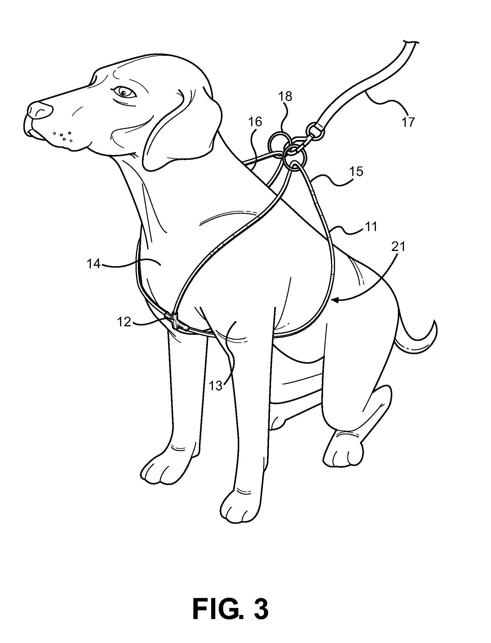 Dog Back Leg Harness