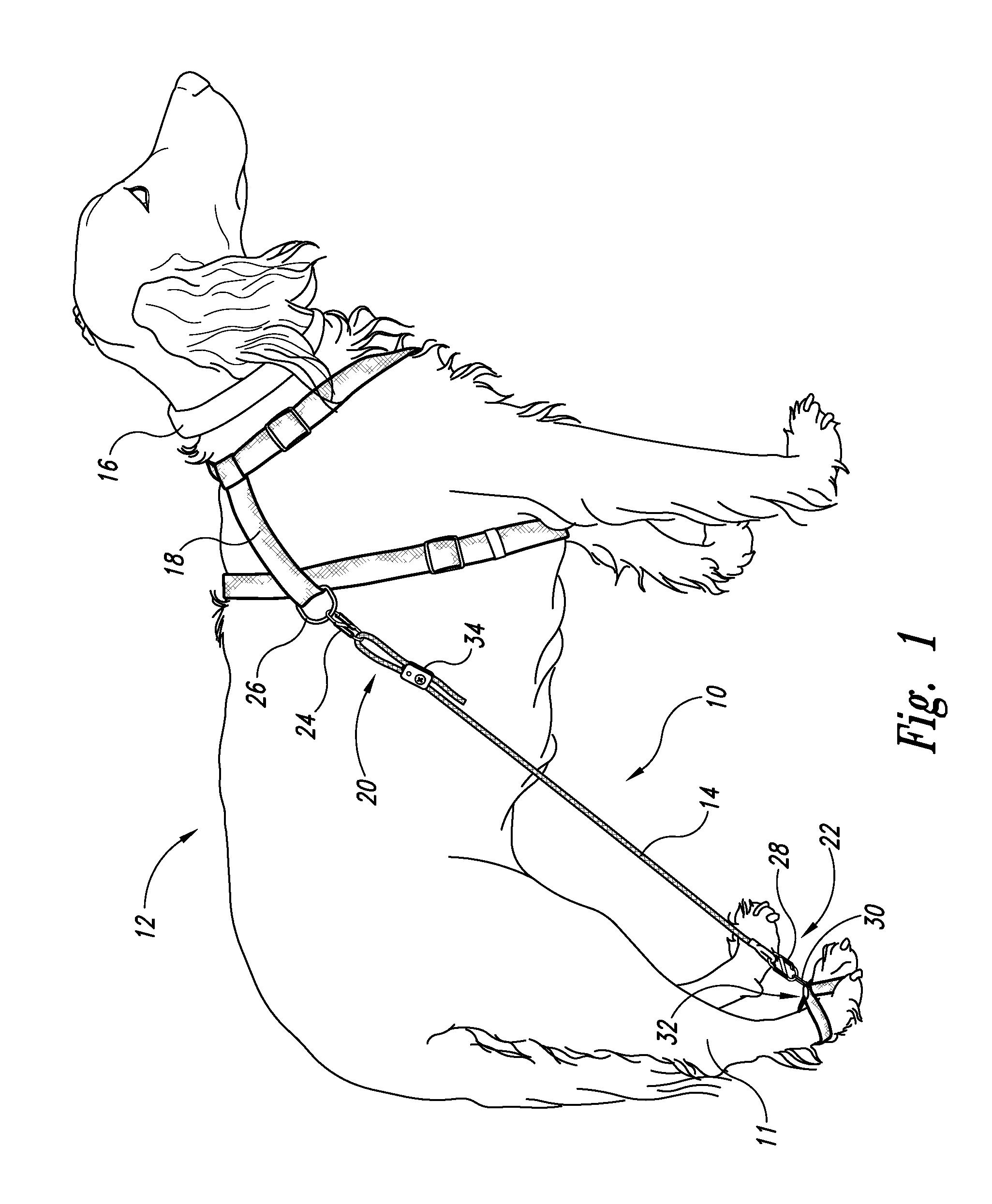 Dog Leg Harness