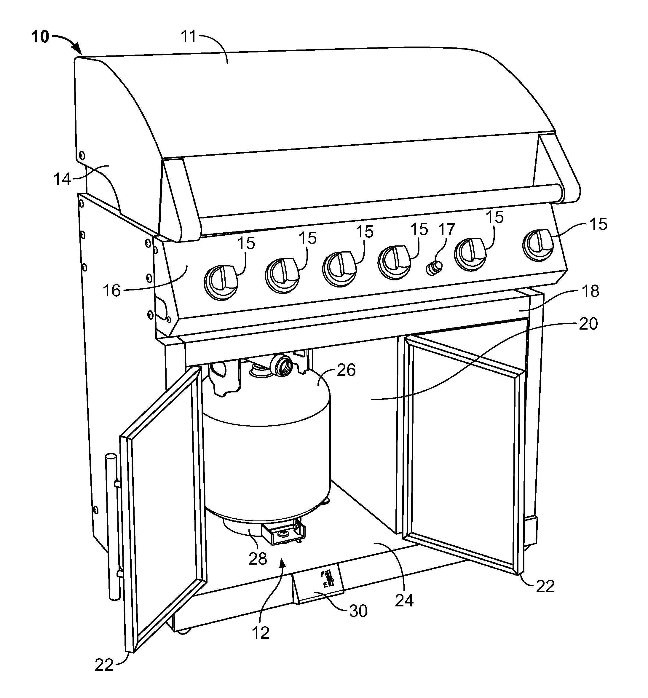 Propane Tank Drawing