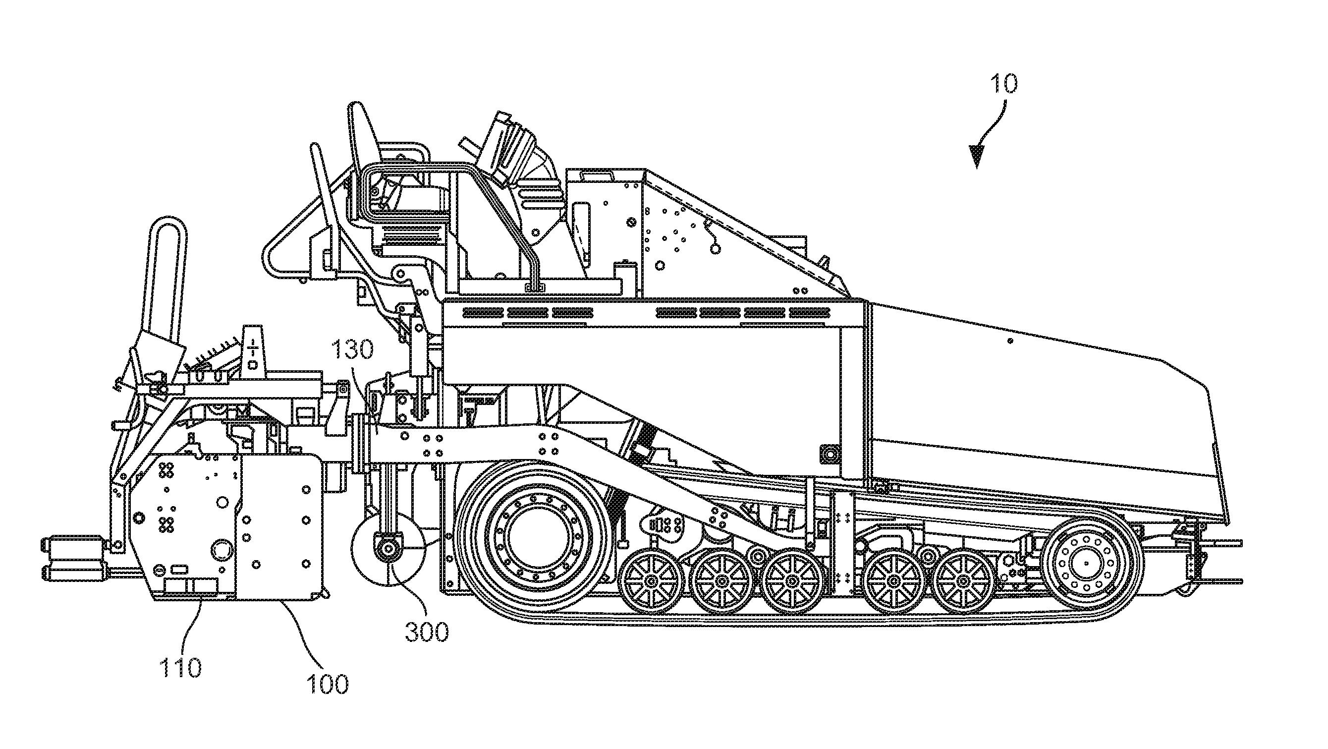 Paving Machine Schematic