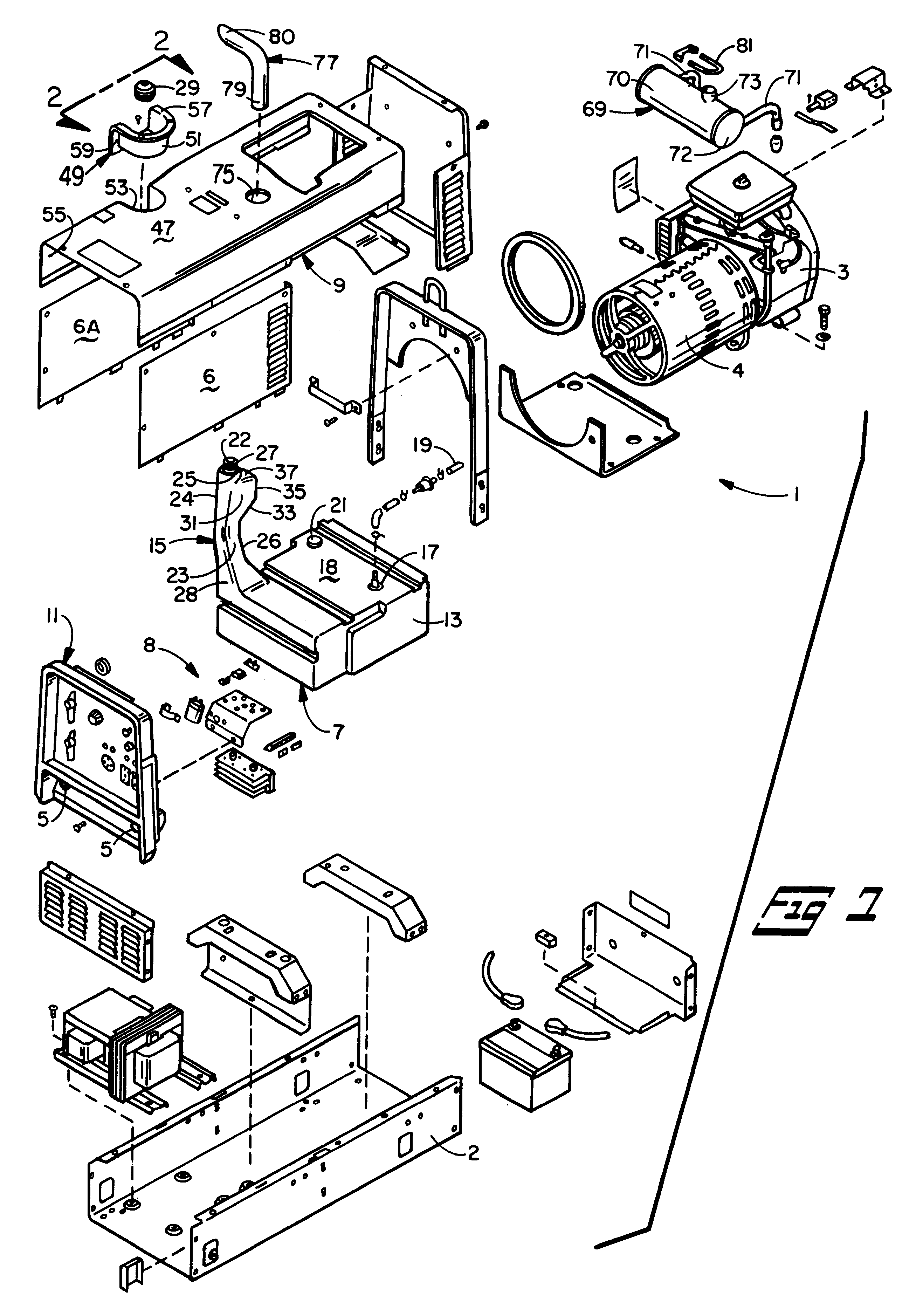 Gas Engine Parts Diagram