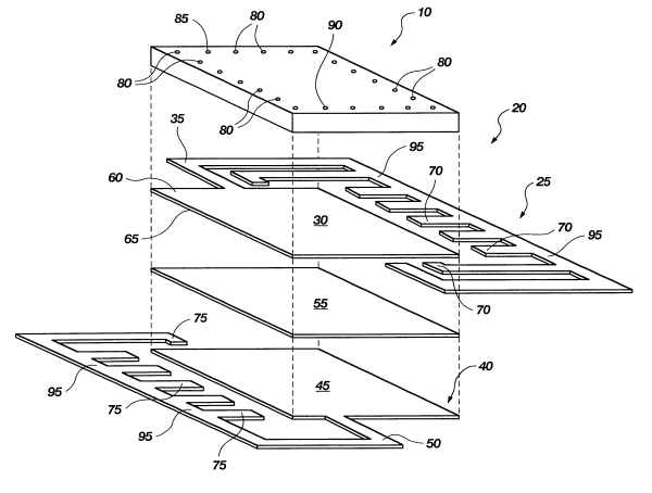 Patent US6307255 - Multi-layer lead frame for a ...