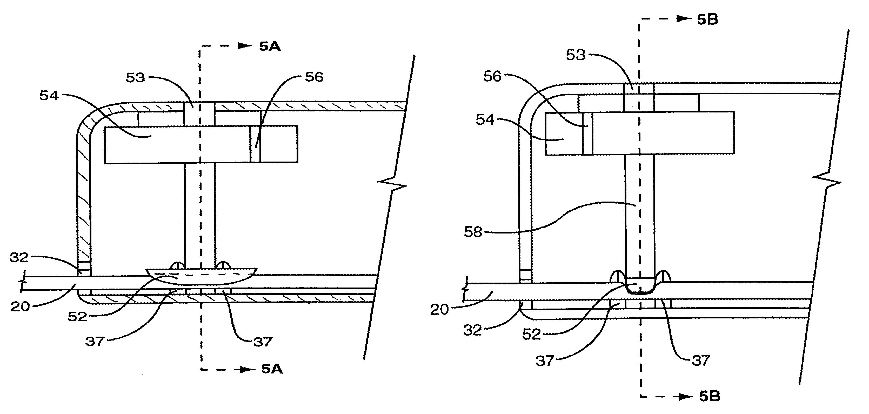Twist Lock Mechanism For A Tape Measure