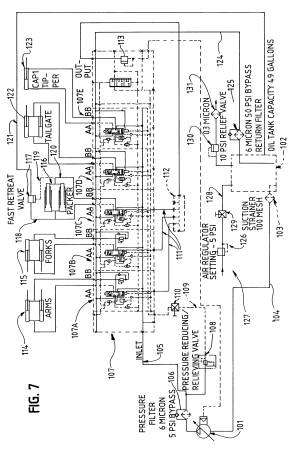 Patent US6332745  Compacting system and refuse vehicle