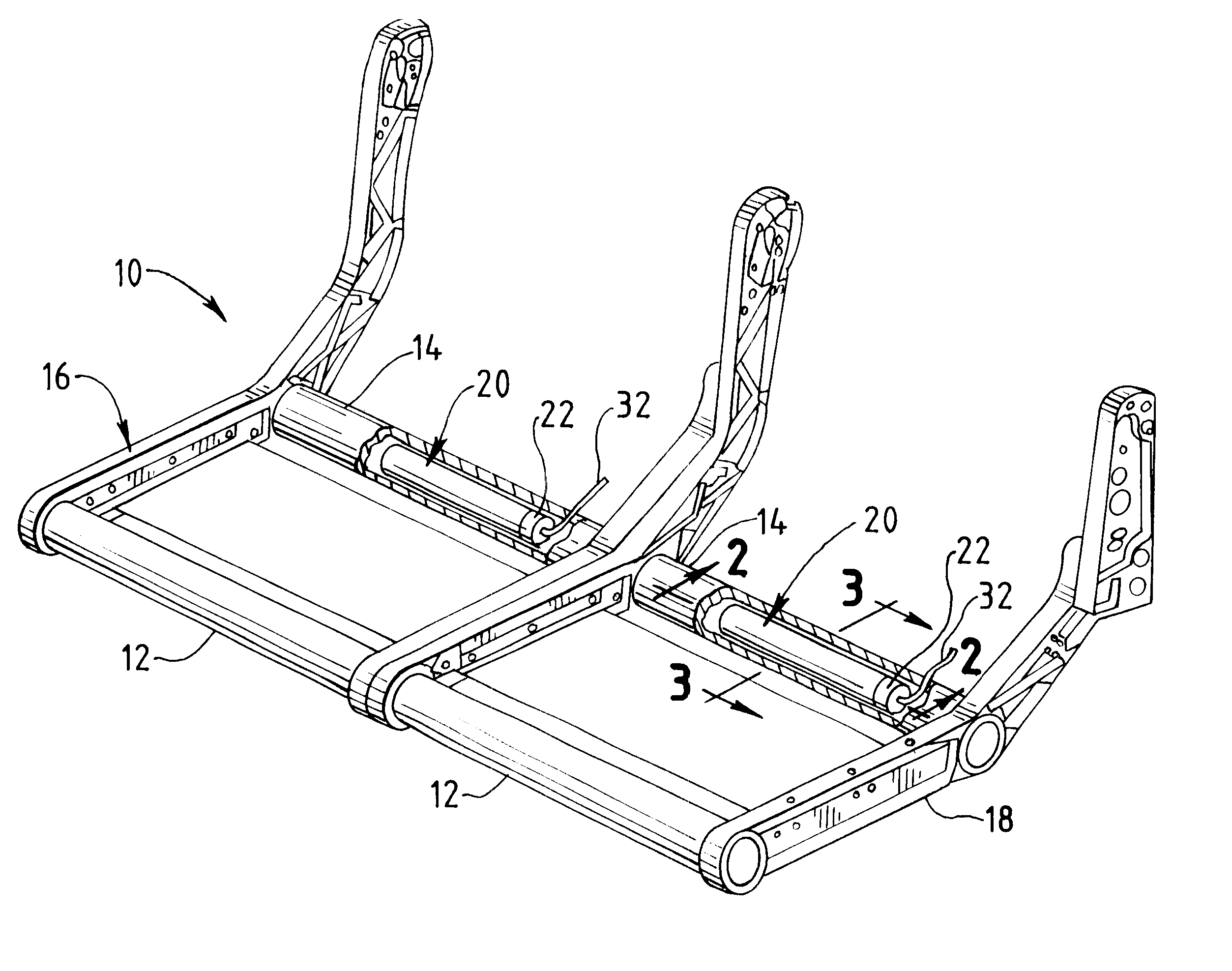 Patent us aircraft seat structure patents