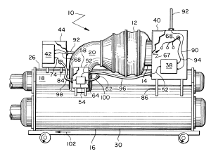 Patent US6679076  Centrifugal chiller with high voltage