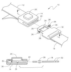 Patent US6694578  Child safety belt buckle locking