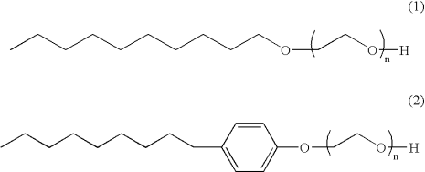 Nonyphenol Ethoxylate and Alcohol ethoxylate