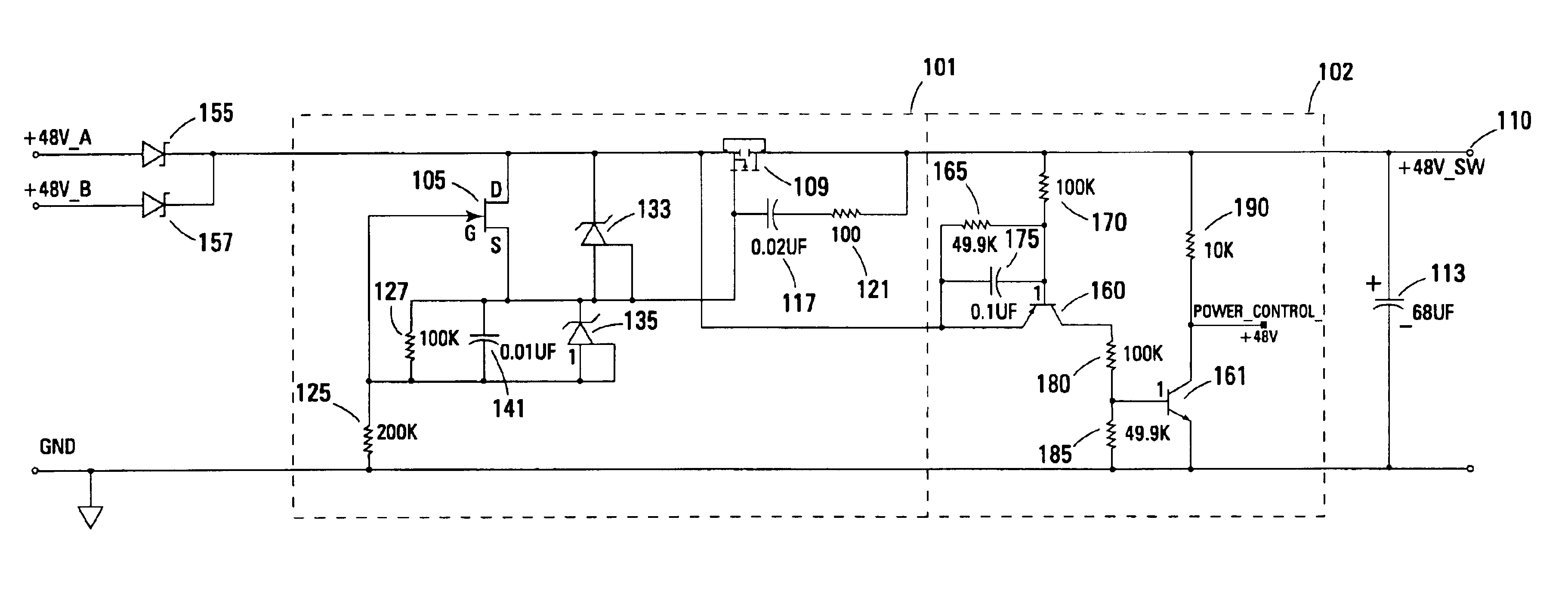 Power Supply Current Limiting