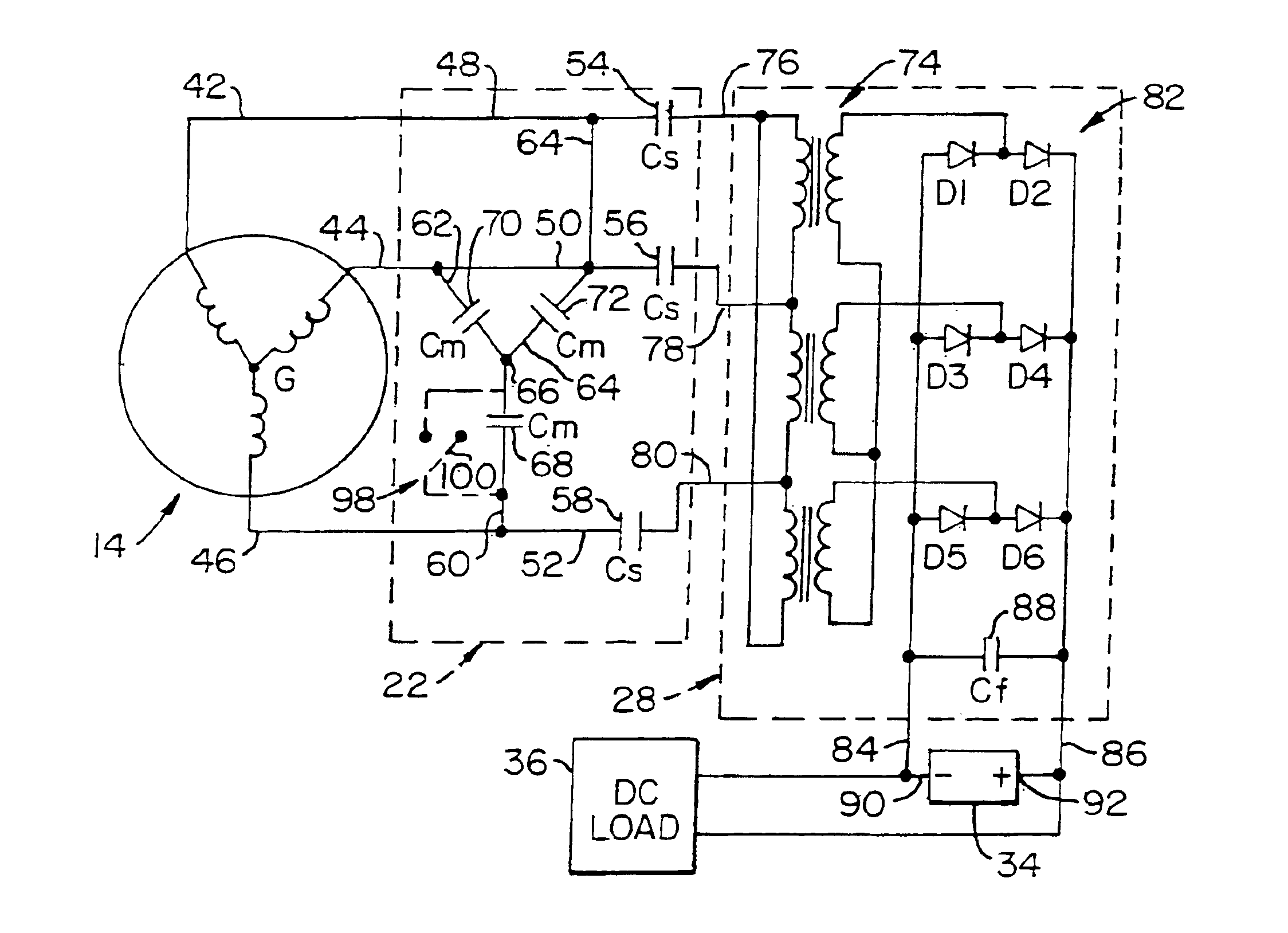 Patent us induction generator power supply patents