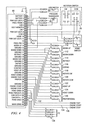 Patent US6994223  Diagnostic readout for operation of a