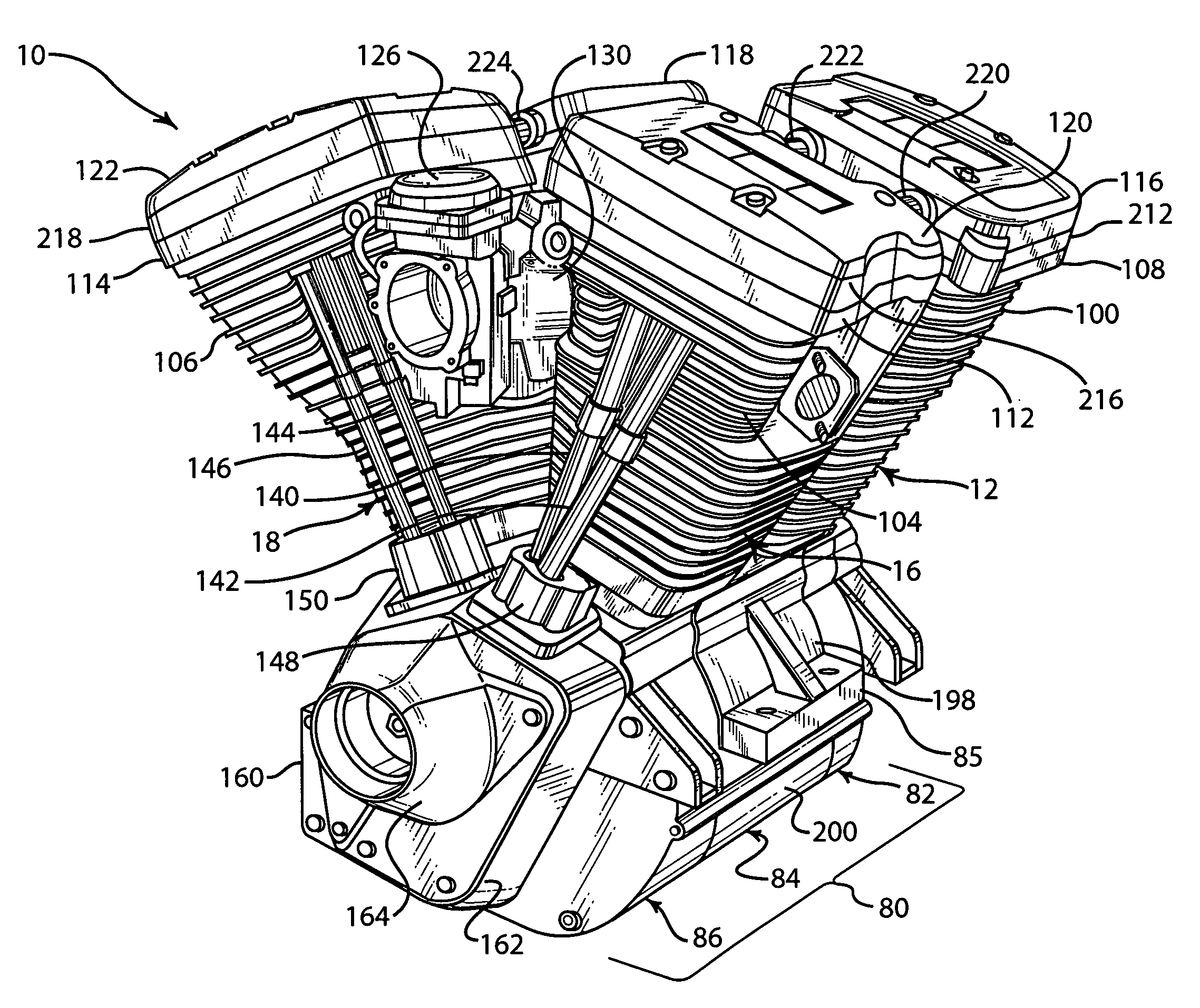 Motoorcycle Engines Diagram