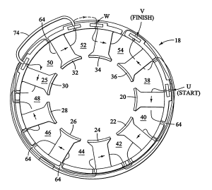 Patent US7152301  Method for winding a stator of multi