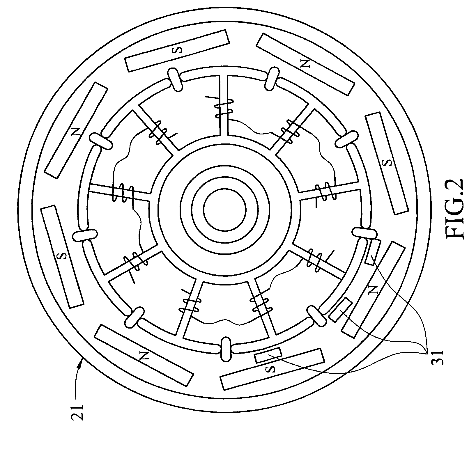 Diagram Of Coil In A Fan