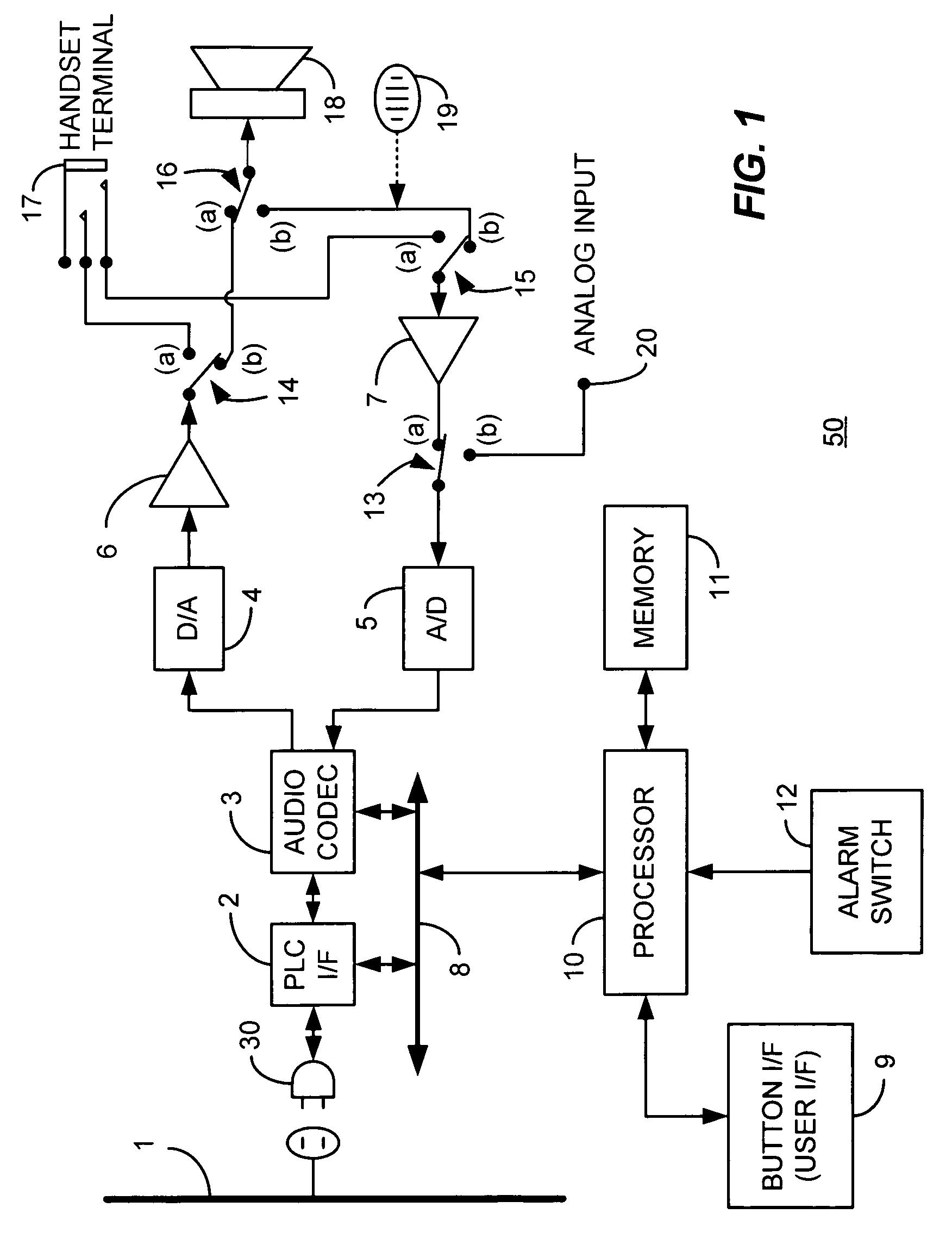 Power Line Schematic