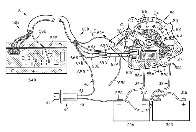 mando alternator wiring diagram wiring diagrams 1996 7 4 mando alternator 5 wires page 1 iboats boating