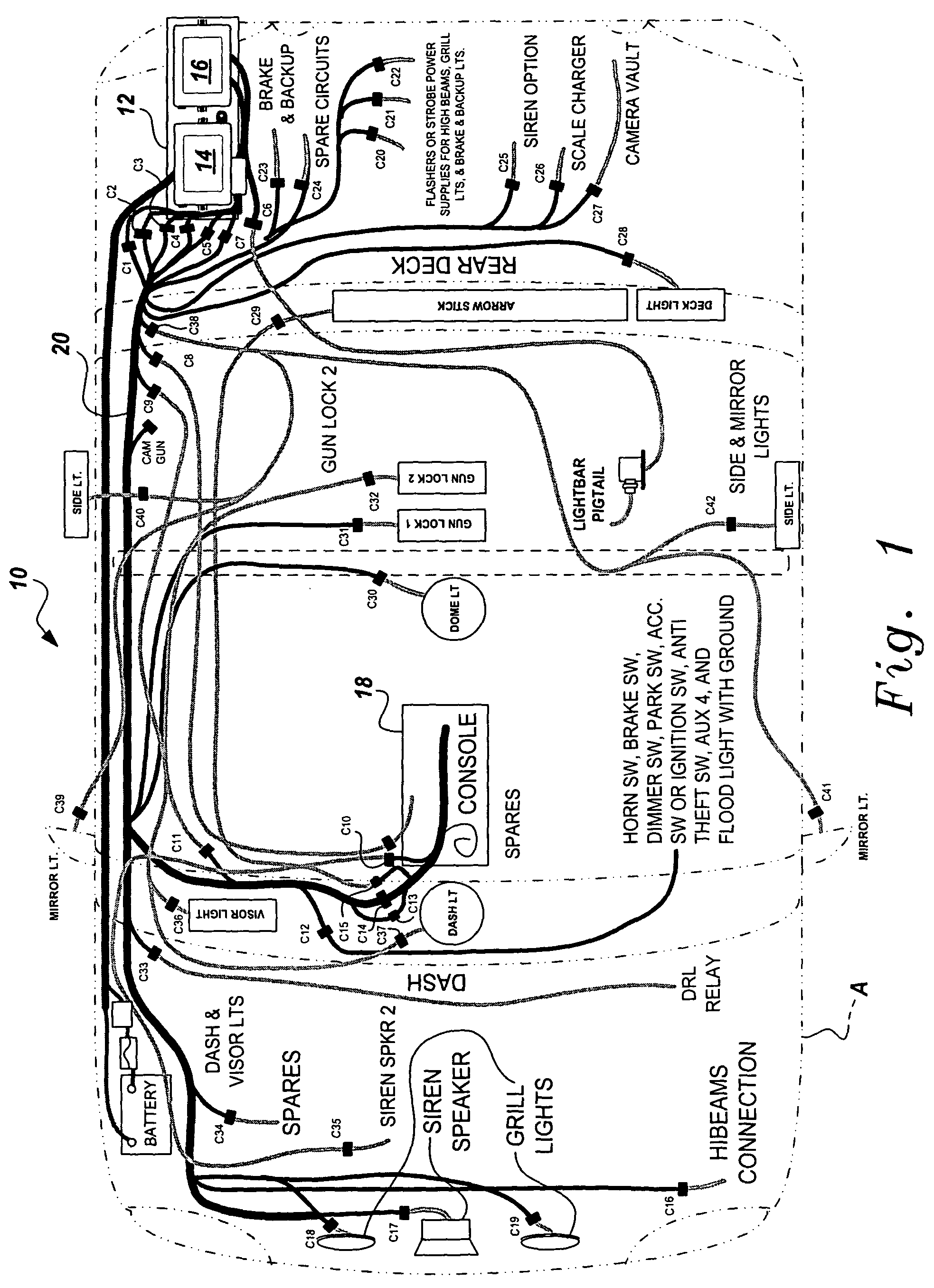 US07342325 20080311 D00001?resize\=665%2C917\&ssl\=1 cat c15 wiring diagram cat c7 belt diagram, cat c15 fuel system c15 wiring diagram at bakdesigns.co