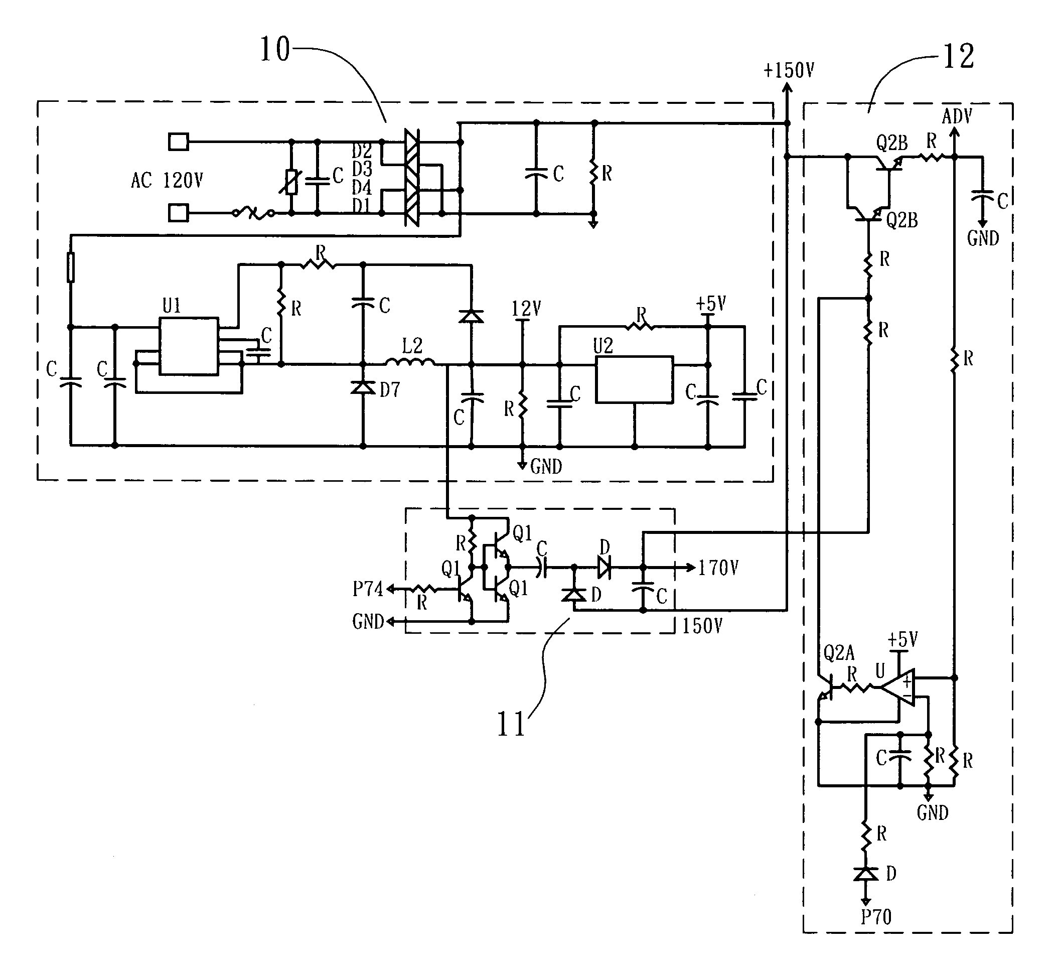 Bldc Ceiling Fan Circuit Diagram