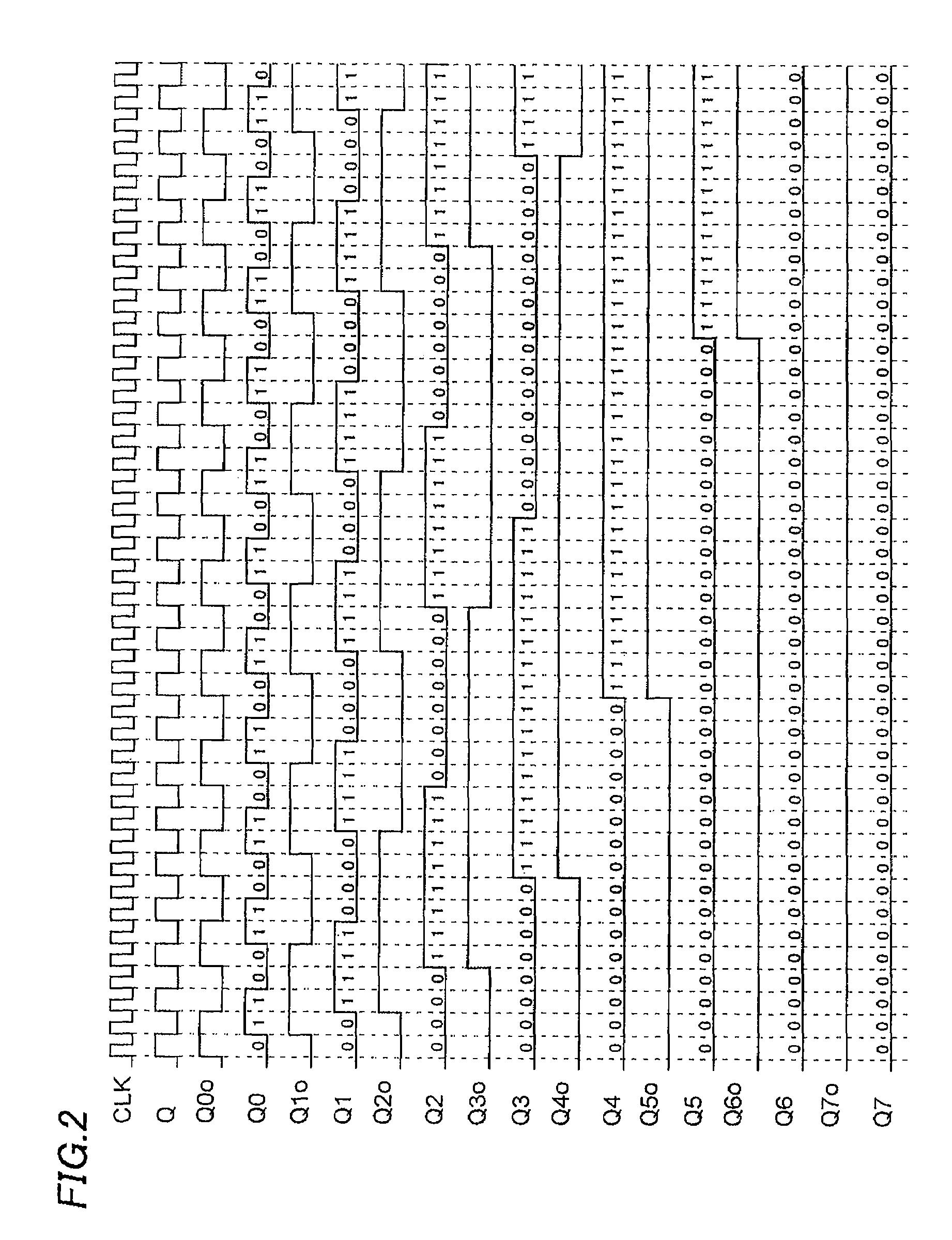 Gray Code Counter Circuit