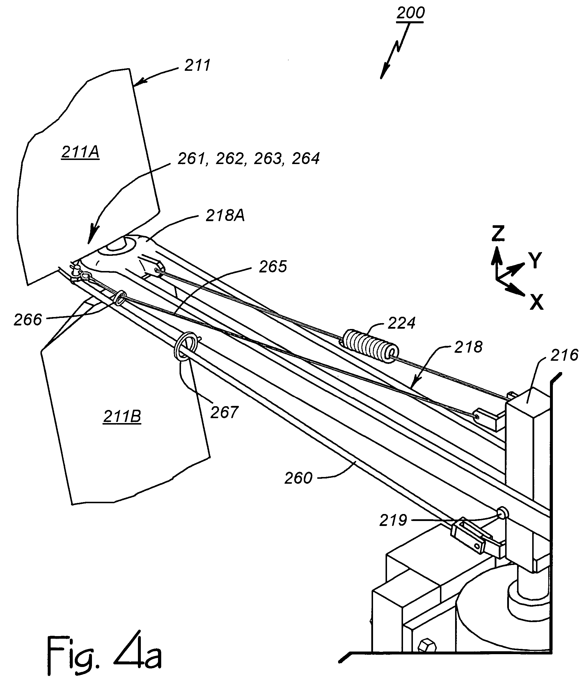 Patent us7677862 vertical axis wind turbine with articulating