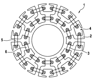 Patent US8013491  Stator for an electric drive motor