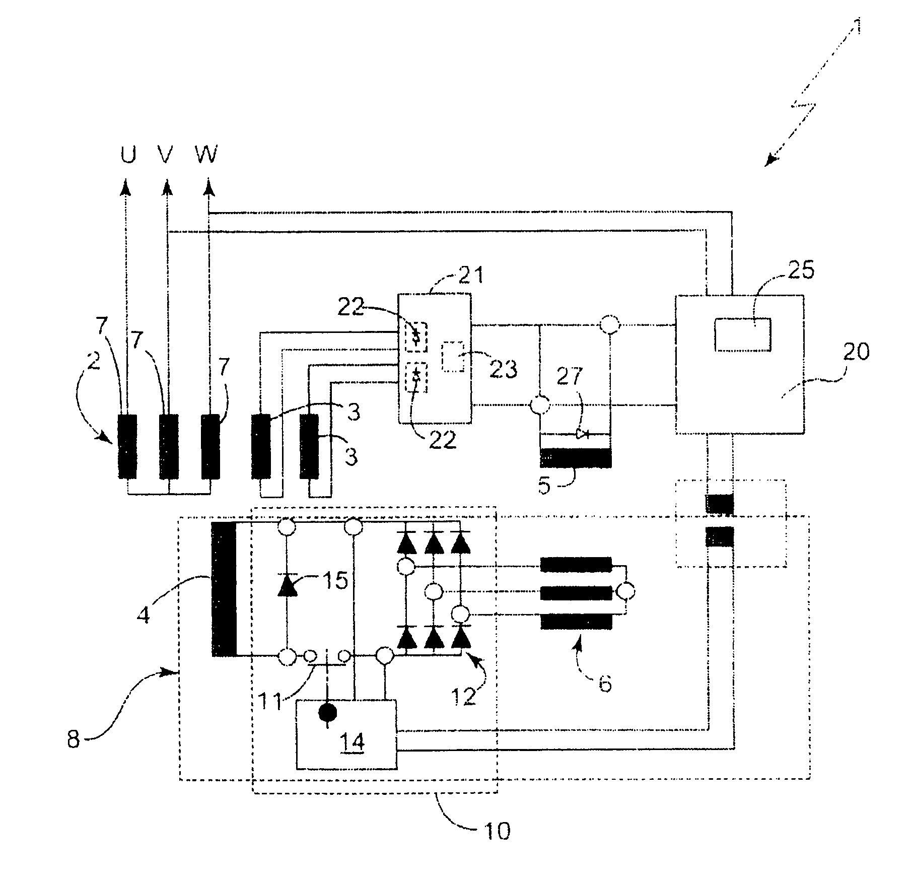 US08013578 20110906 D00000?resize\\\\\\\\\\\\\\\\\\\\\\\\\=665%2C642 portable generator wiring diagram & portable generator transfer Brushless Generator Wiring Diagram at aneh.co