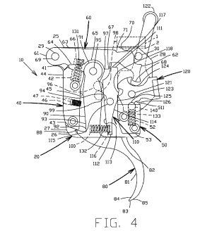 Patent US8132349  Trigger assembly  Google Patents