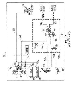 Patent US8794715  Electropneumatic latching valve system