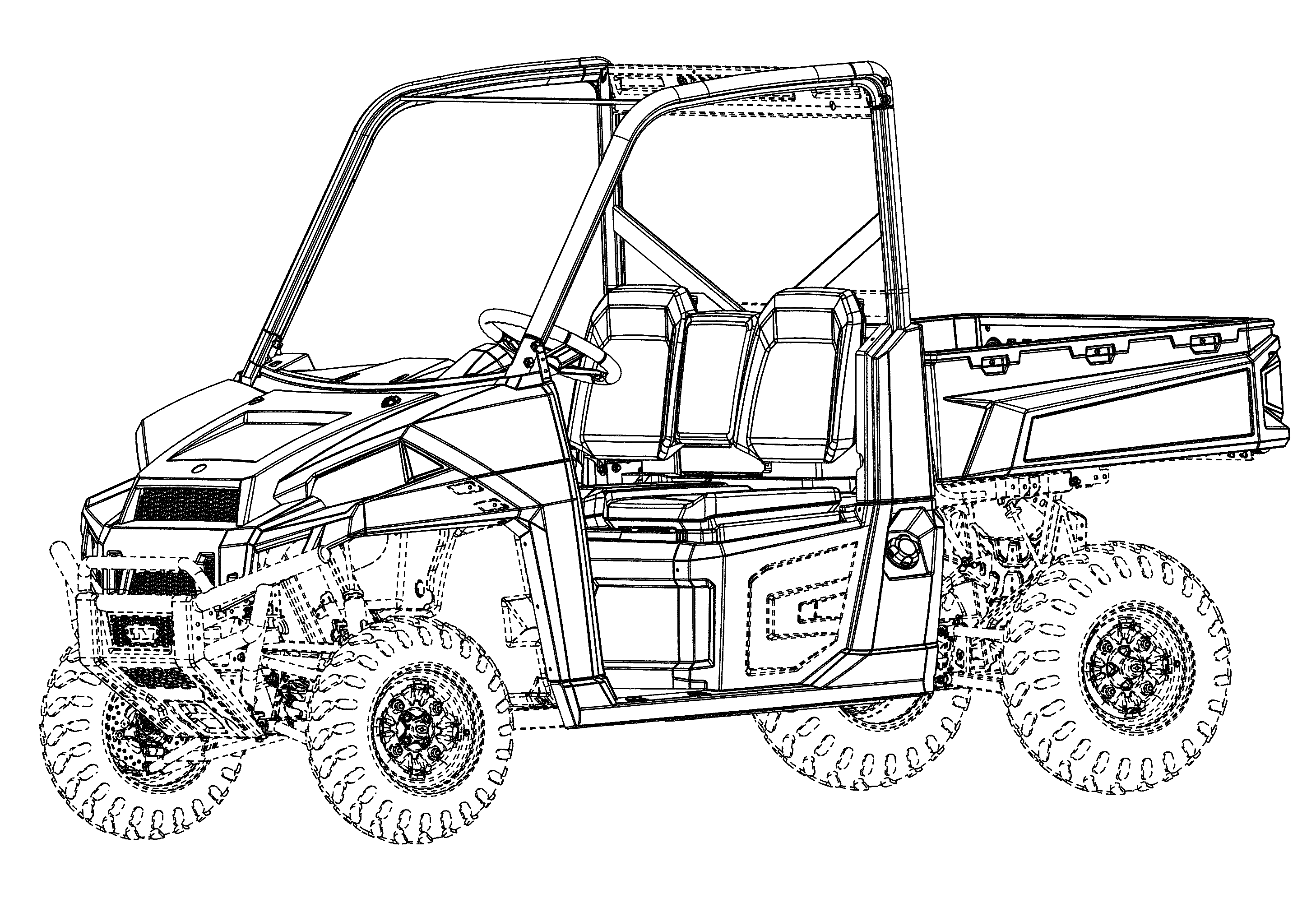 Polaris Rzr Coloring Pages Sketch Coloring Page
