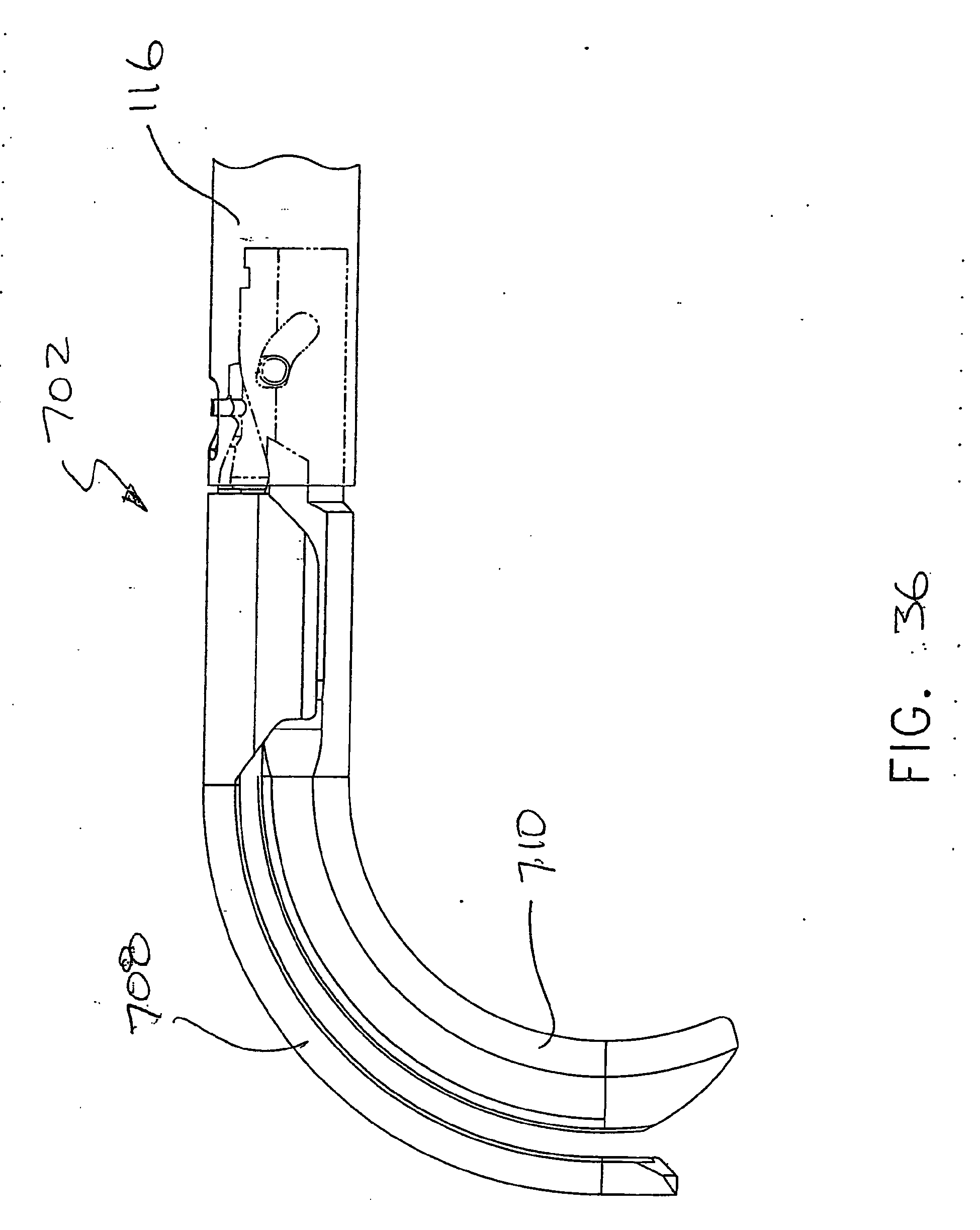 Ep1943962b1 improved curved end effector for a surgical stapling device patents