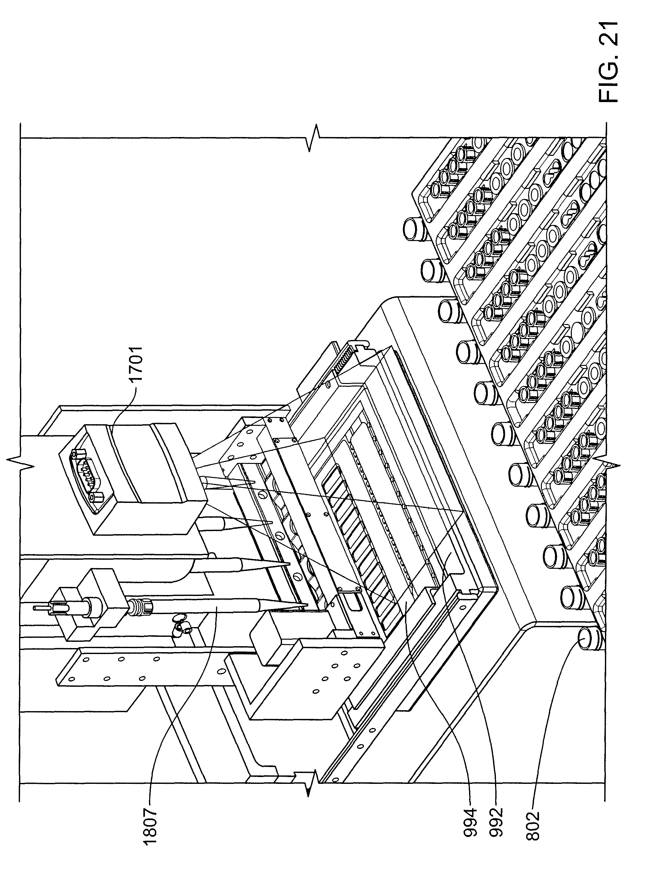 Us8287820b2 automated pipetting apparatus having a bined liquid pump and pipette head system patents