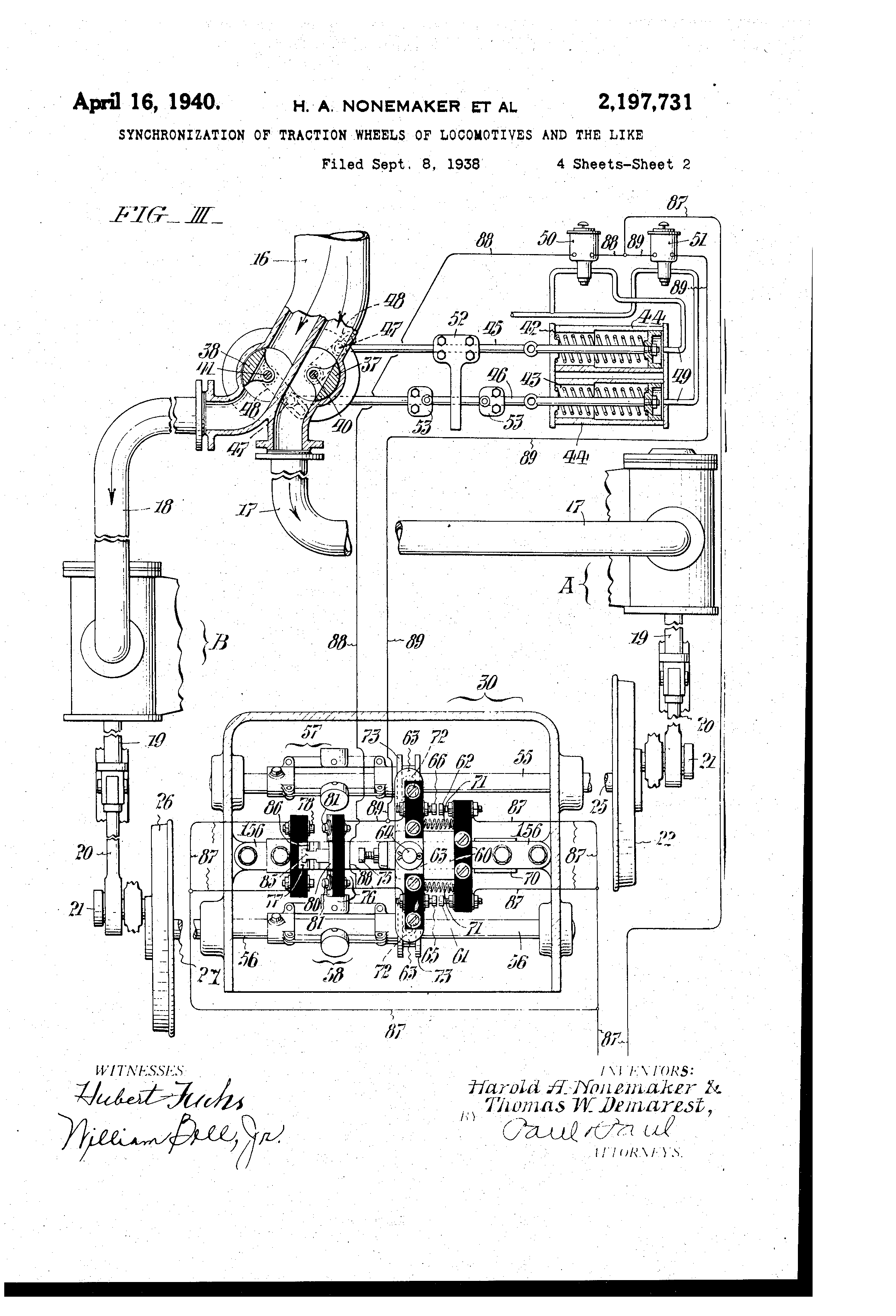 Prr Duplexes And Experimental Engines S1 S2 T1 Q1 V1