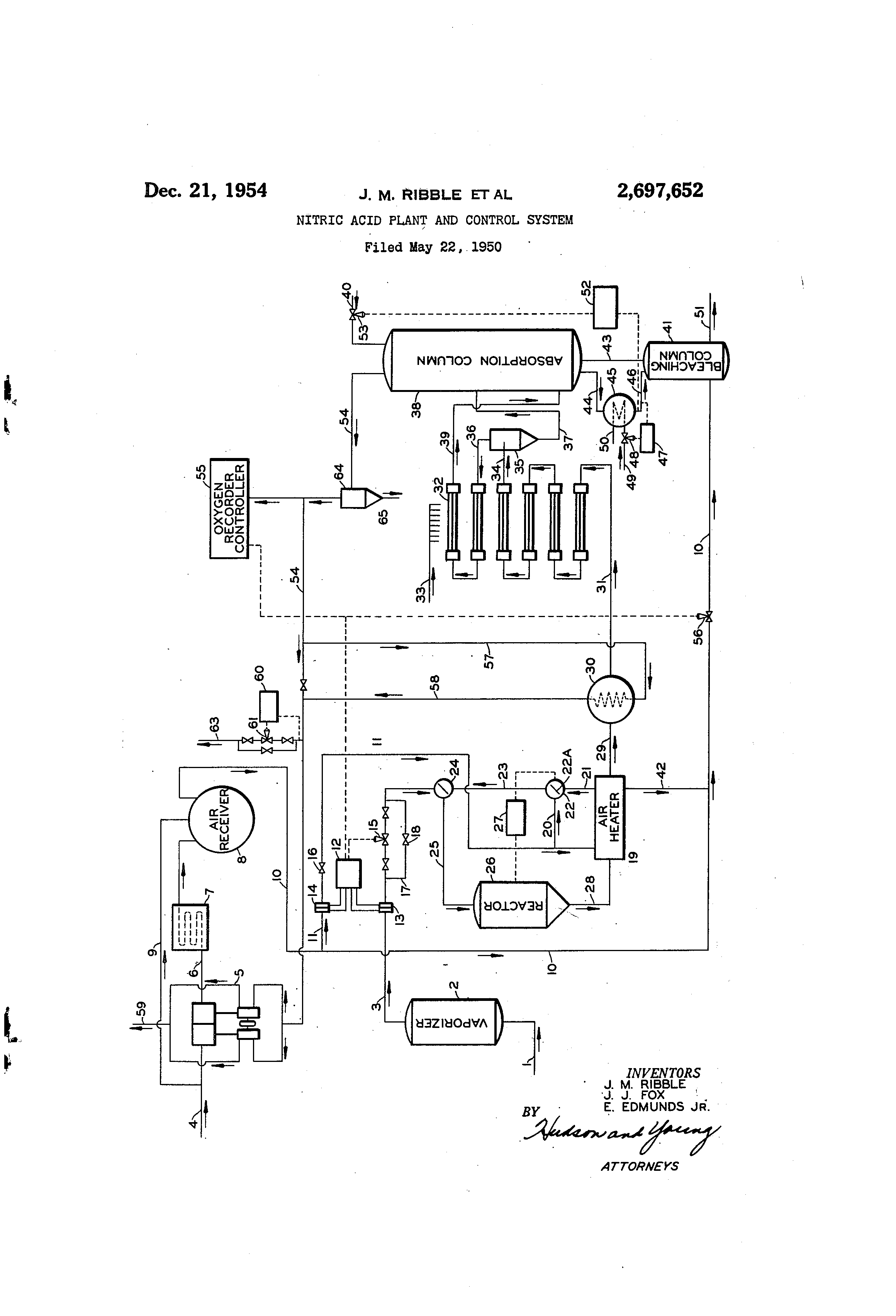 89 Process Flow Diagram Of Nitric Acid Production Process