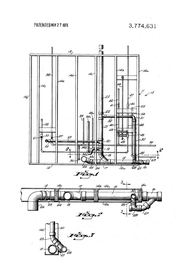 Kitchen Sink Plumbing Rough In Diagram With Garbage Manual Guide