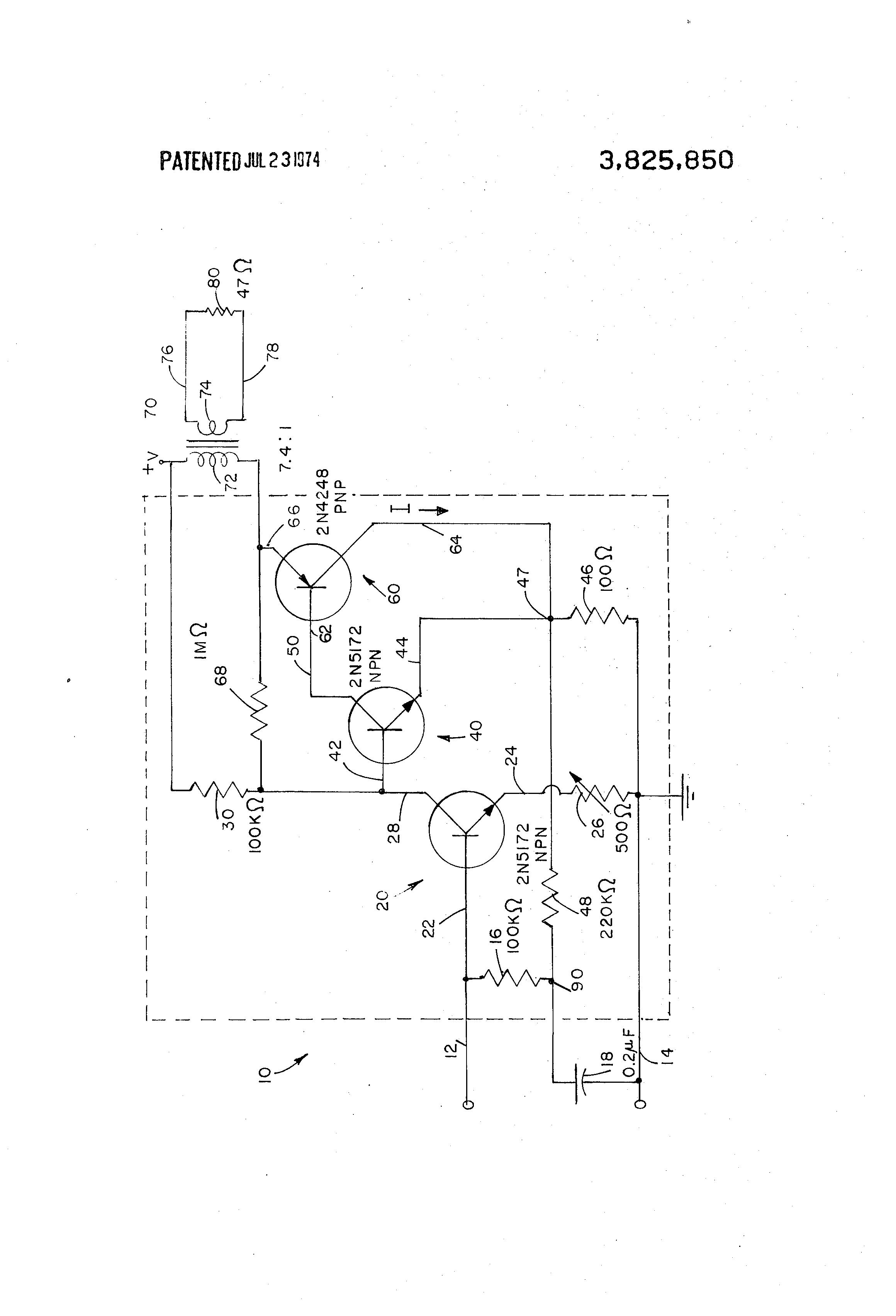 1 2v 90 Db Transistor Af Amp