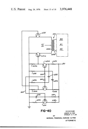 Patent US3976448  Electrostatic and sonic gas processing apparatus  Google Patentsuche