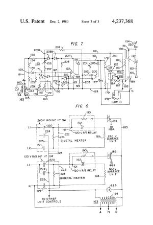 Patent US4237368  Temperature sensor for glassceramic