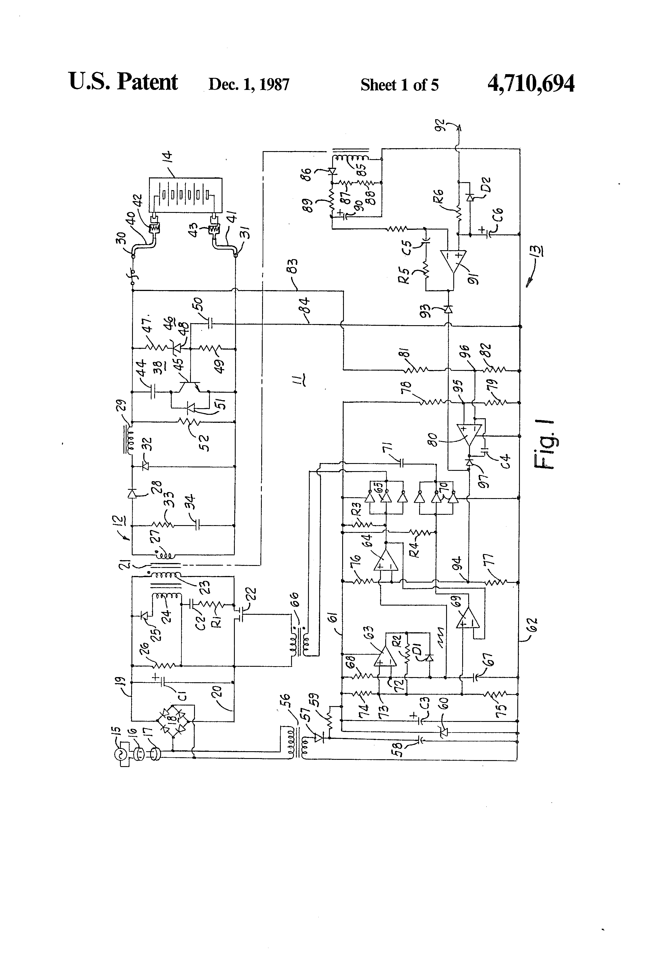 Circuit Diagram 12 Volt Dc Battery Charger