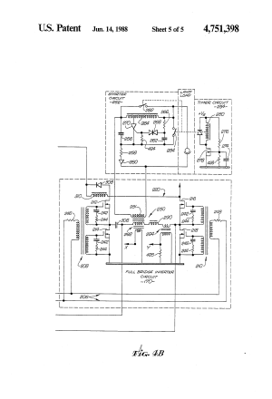 Patent US4751398  Lighting system for normal and
