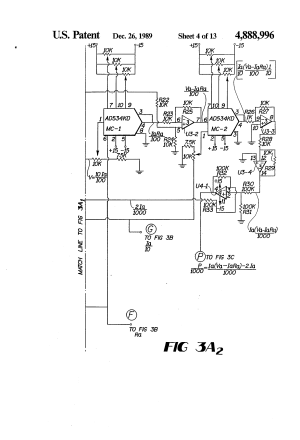 Patent US4888996  DC motor operated valve remote
