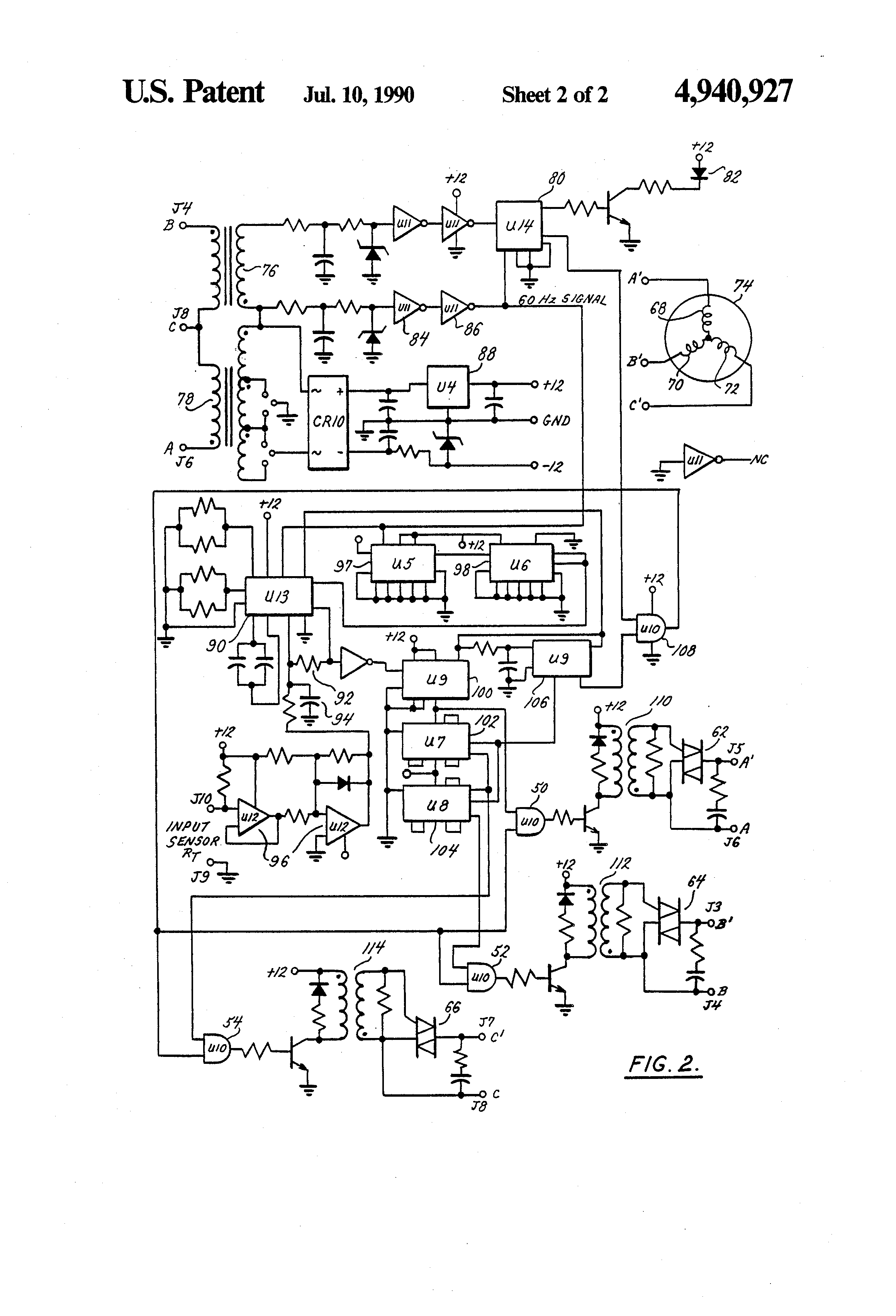 Magnetek Power Converter A Wiring Diagram