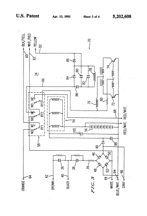 Patent US5202608  Emergency lighting system utilizing