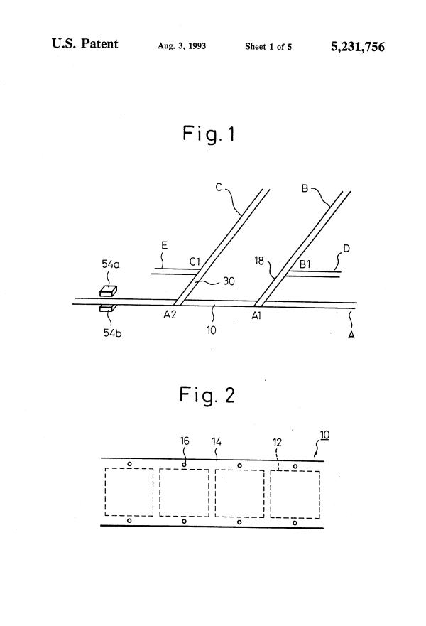 Patent US5231756 - Process for manufacturing a multi-layer ...