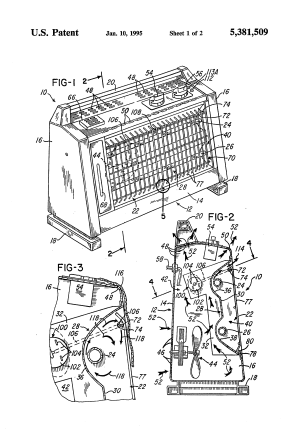 Patent US5381509  Radiant electric space heater  Google Patents
